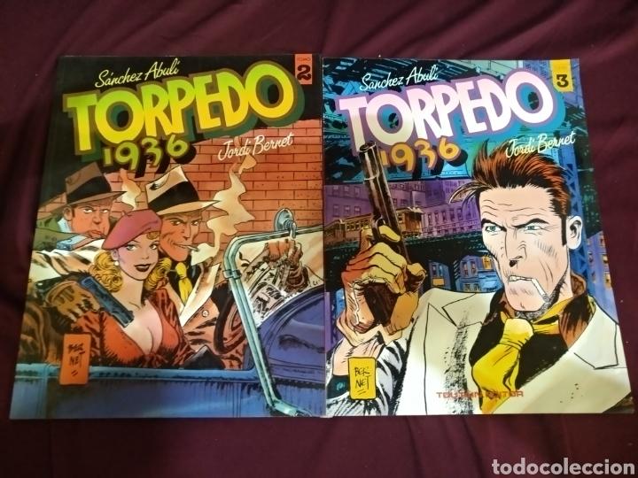 Cómics: Colección completa, TORPEDO 1936, 8 TOMOS, TOUTAIN - Foto 3 - 288434143