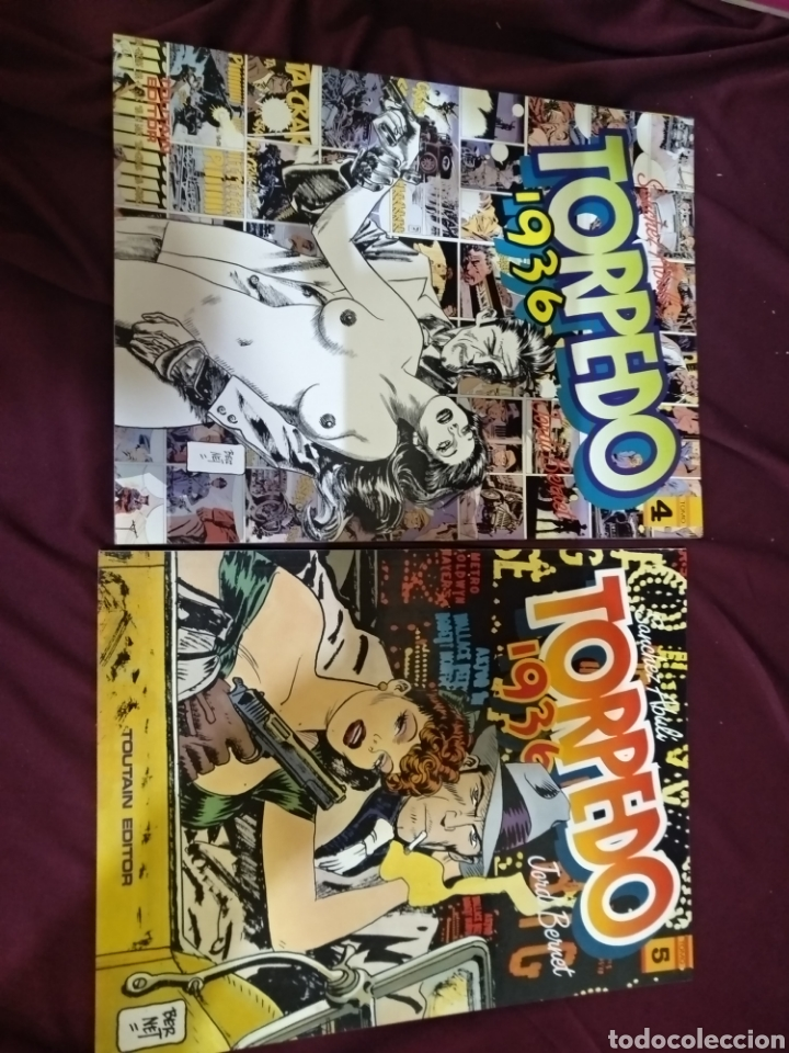 Cómics: Colección completa, TORPEDO 1936, 8 TOMOS, TOUTAIN - Foto 4 - 288434143