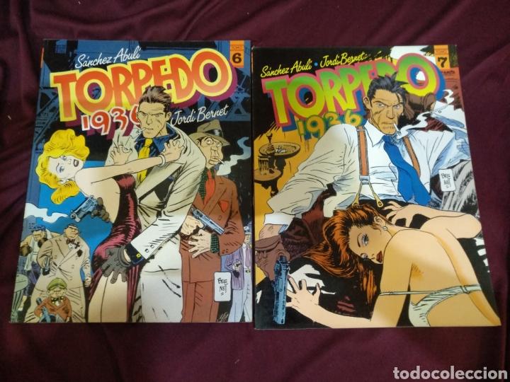 Cómics: Colección completa, TORPEDO 1936, 8 TOMOS, TOUTAIN - Foto 5 - 288434143