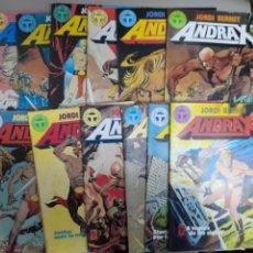 Comics: ANDRAX, JORDI BERNET, COLECCION COMPLETA DE 12 COMICS.TOUTAIN, C9498. Lote 220081398