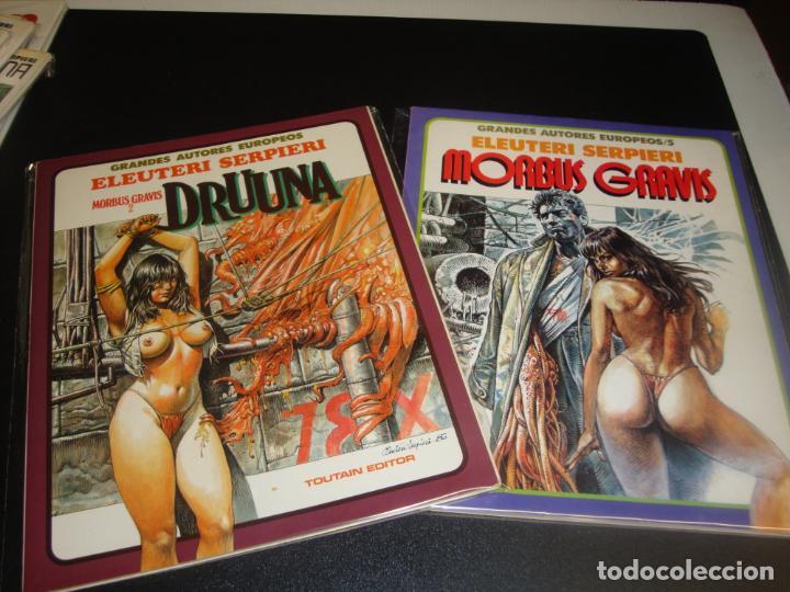 DRUUNA MORBUS GRAVIS COMPLETA 2 NUMEROS (Tebeos y Comics - Toutain - Otros)