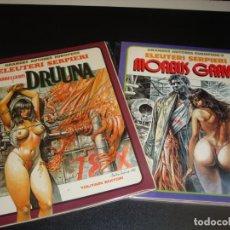 Cómics: DRUUNA MORBUS GRAVIS COMPLETA 2 NUMEROS. Lote 220173618
