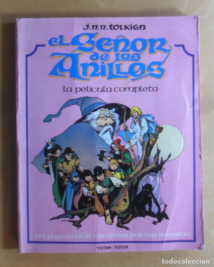 EL SEÑOR DE LOS ANILLOS - OBRA COMPLETA - J.R.R. TOLKIEN - DIBUJOS: LUIS BERMEJO - TOUTAIN (Tebeos y Comics - Toutain - Obras Completas)
