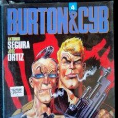 Comics : BURTON & CYB Nº 4 (ANTONIO SEGURA - JOSÉ ORTIZ) TOUTAIN 1991 ''PRECINTADO''. Lote 220479847