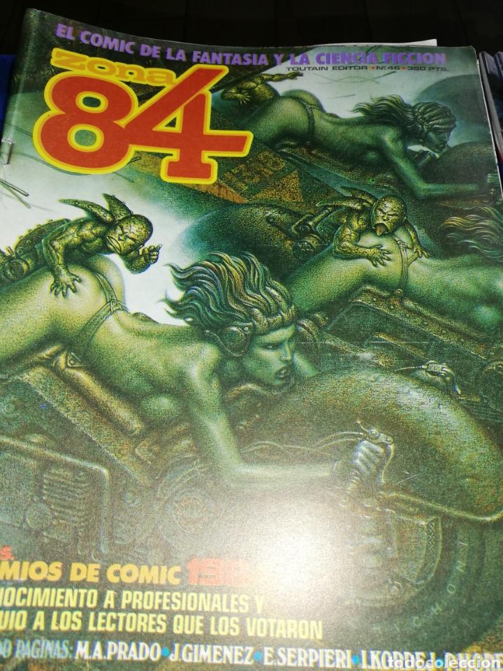 Cómics: 22 cómic zona 84..último número se encuentra entre ellos - Foto 3 - 220754287