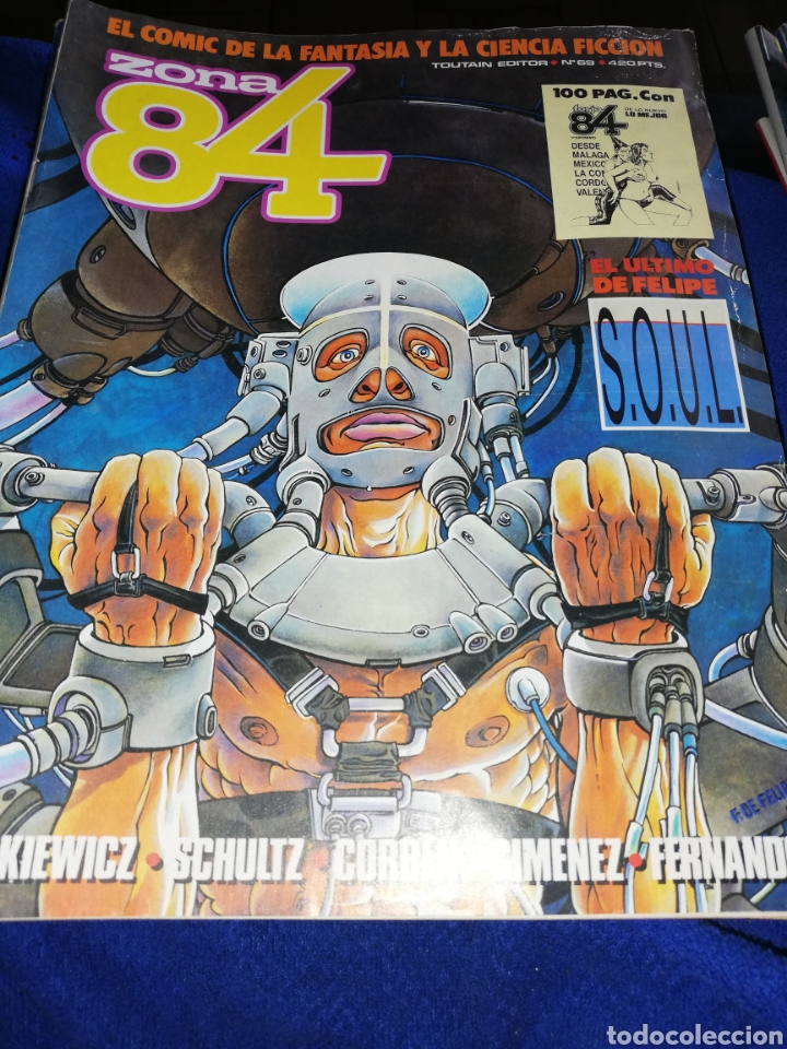Cómics: 22 cómic zona 84..último número se encuentra entre ellos - Foto 9 - 220754287