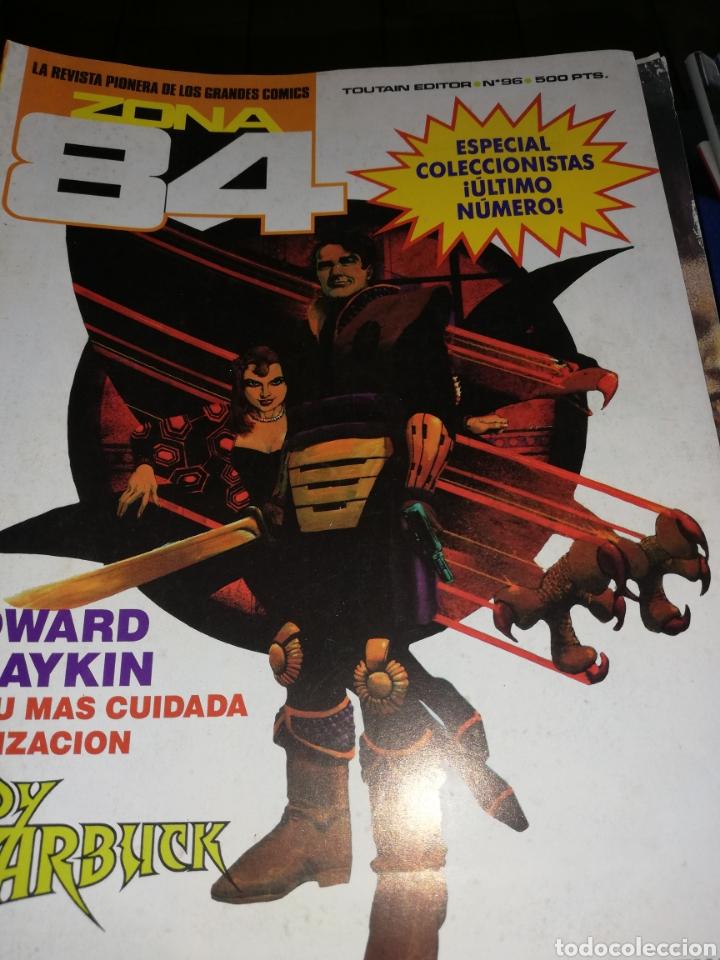 22 CÓMIC ZONA 84..ÚLTIMO NÚMERO SE ENCUENTRA ENTRE ELLOS (Tebeos y Comics - Toutain - Zona 84)