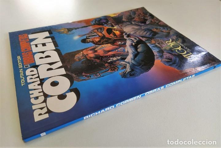 Cómics: RICHARD CORBEN OBRAS COMPLETAS Nº 10 - PILGOR (BODYSSEY) ~ TOUTAIN (1990) - EXCELENTE ESTADO - Foto 3 - 220777948