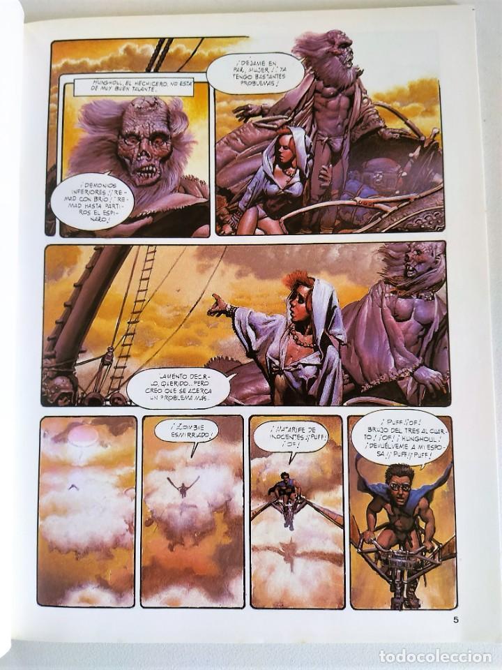 Cómics: RICHARD CORBEN OBRAS COMPLETAS Nº 10 - PILGOR (BODYSSEY) ~ TOUTAIN (1990) - EXCELENTE ESTADO - Foto 4 - 220777948
