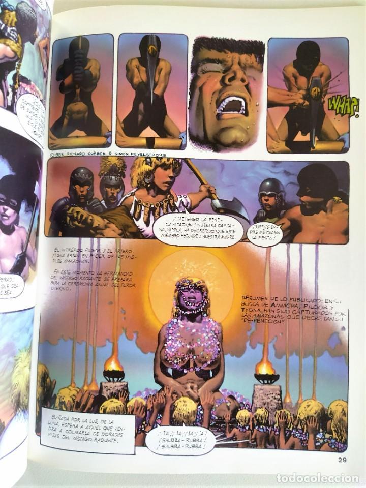 Cómics: RICHARD CORBEN OBRAS COMPLETAS Nº 10 - PILGOR (BODYSSEY) ~ TOUTAIN (1990) - EXCELENTE ESTADO - Foto 5 - 220777948