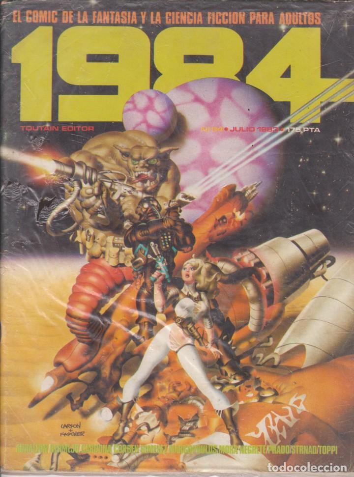 COMIC 1984 Nº 54 ED.TOUTAIN (Tebeos y Comics - Toutain - 1984)