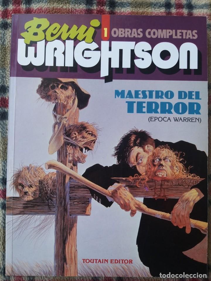 LOTE ESPECIAL BERNIE WRIGHTSON (MAESTRO DEL TERROR + STUDIO ESPECIAL WRIGHTSON) (Tebeos y Comics - Toutain - Obras Completas)