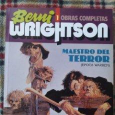 Cómics: LOTE ESPECIAL BERNIE WRIGHTSON (MAESTRO DEL TERROR + STUDIO ESPECIAL WRIGHTSON). Lote 220797733