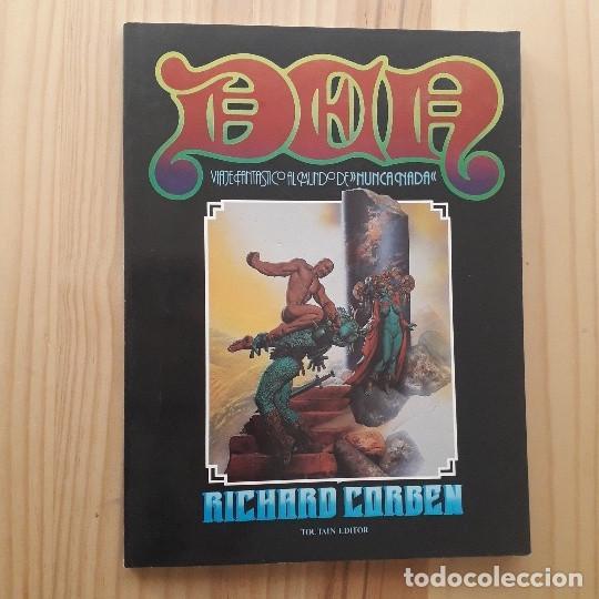 DEN, VIAJE FANTASTICO AL MUNDO DE NUNCA NADA - RICHARD CORBEN (2ª EDICIÓN 1982) (Tebeos y Comics - Toutain - Álbumes)
