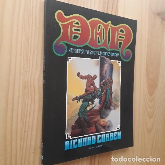 Cómics: DEN, VIAJE FANTASTICO AL MUNDO DE NUNCA NADA - RICHARD CORBEN (2ª EDICIÓN 1982) - Foto 2 - 220958688