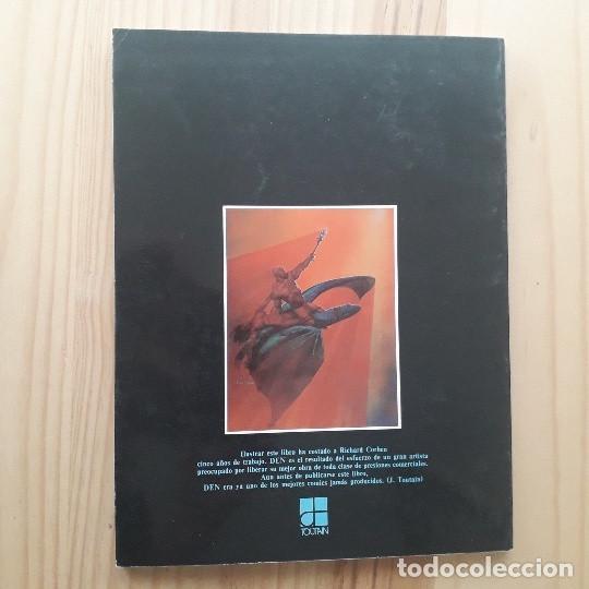 Cómics: DEN, VIAJE FANTASTICO AL MUNDO DE NUNCA NADA - RICHARD CORBEN (2ª EDICIÓN 1982) - Foto 3 - 220958688