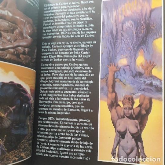 Cómics: DEN, VIAJE FANTASTICO AL MUNDO DE NUNCA NADA - RICHARD CORBEN (2ª EDICIÓN 1982) - Foto 6 - 220958688