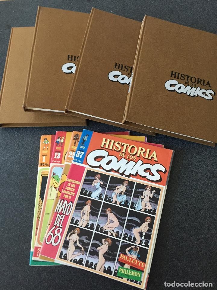Cómics: HISTORIA DE LOS COMICS COMPLETA 4 TOMOS - 1ª EDICIÓN - TOUTAIN - 1982 - ¡NUEVA! - Foto 3 - 220978045