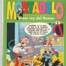 Cómics: MORTADELO. SUPER REY DEL HUMOR. TOMO RETAPADO CON TRES EJEMPLARES. VER FOTOS. (C/A40). Lote 221242405