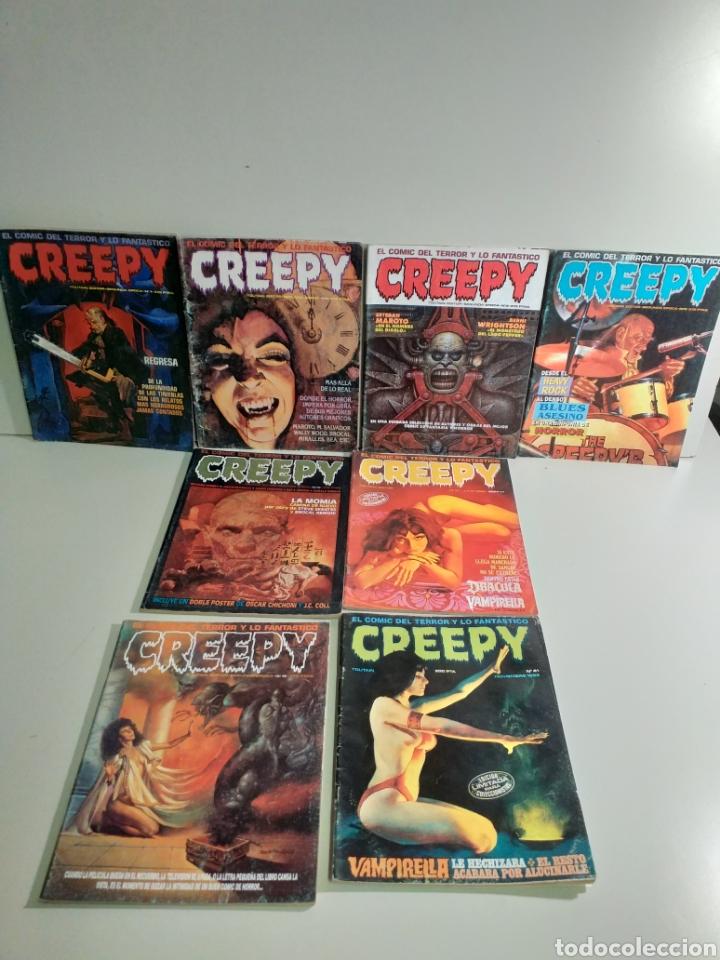 LOTE DE 6 COMICS CREEPY (Tebeos y Comics - Toutain - Creepy)