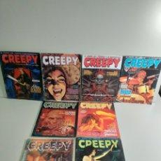 Cómics: LOTE DE 6 COMICS CREEPY. Lote 215753518