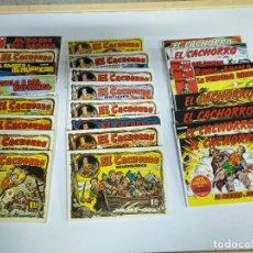Cómics: LOTE COMIC REVISTA EL CACHORRO. Lote 221306485
