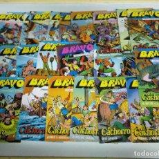 Cómics: COMICS BRAVO EL CACHORRO. Lote 221310675