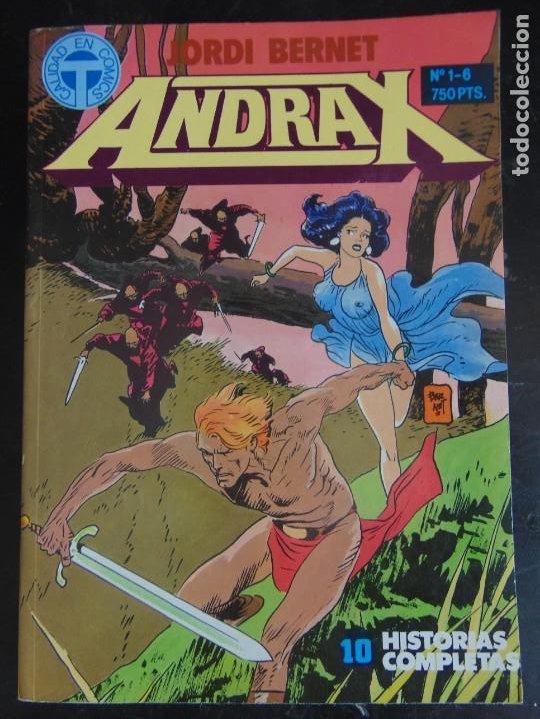 ANDRAX . RETAPADO Nº DEL 1 AL 6 (Tebeos y Comics - Toutain - Álbumes)
