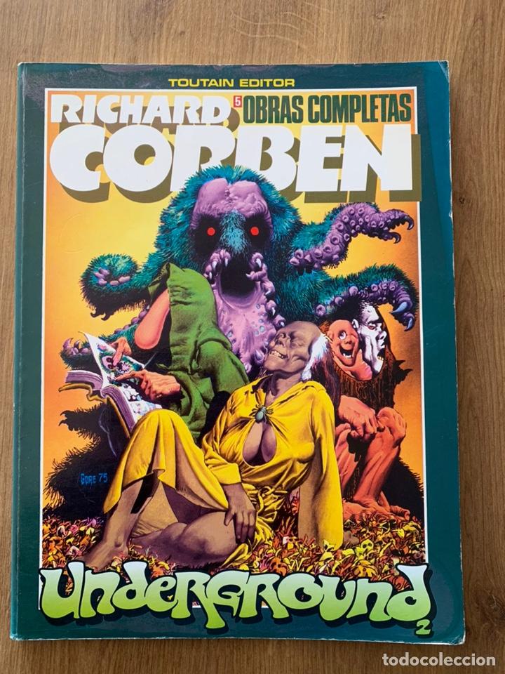RICHARD CORBEN OBRAS COMPLETAS 5 UNDERGROUND 2 (Tebeos y Comics - Toutain - Obras Completas)