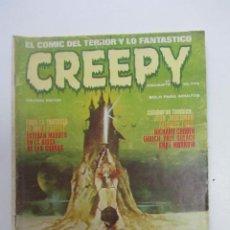 Cómics: CREEPY N.º 17 PRIMERA ÉPOCA 1979 TERROR TOUTAIN MAS EN VENTA MIRA TUS FALTAS CX74. Lote 221400311