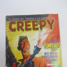 Cómics: CREEPY Nº 68 TERROR Y FANTASTICO TOUTAIN MAS EN VENTA MIRA TUS FALTAS CX74. Lote 221401621