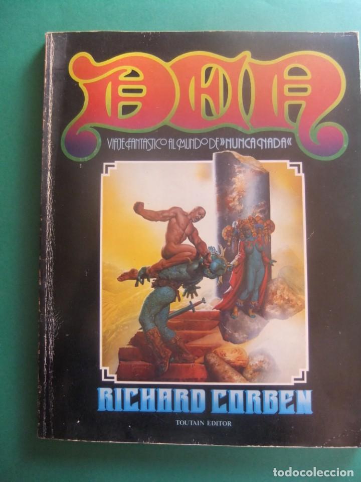 DEN VIAJE FANTASTICO AL MUNDO DE NUNCA NADA TOUTAIN EDITOR 1978 (Tebeos y Comics - Toutain - Álbumes)