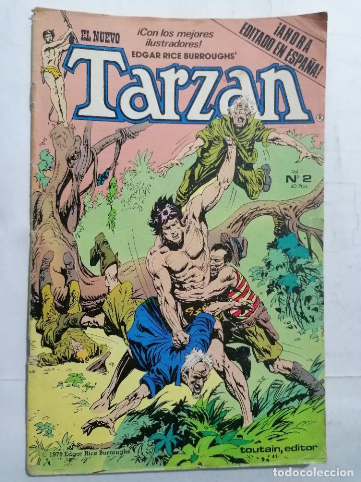 EL NUEVO TARZAN, VOL 1 - Nº 2, TOUTAIN EDICIONES, 1979 (Tebeos y Comics - Toutain - Otros)