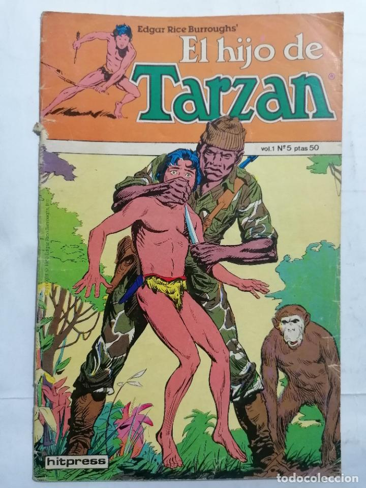 EL HIJO DE TARZAN, VOL 1 - Nº 5, TOUTAIN EDICIONES, 1980 (Tebeos y Comics - Toutain - Otros)
