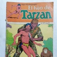 Cómics: EL HIJO DE TARZAN, VOL 1 - Nº 5, TOUTAIN EDICIONES, 1980. Lote 221650845