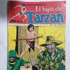 Cómics: EL HIJO DE TARZAN, VOL 1 - Nº 2, TOUTAIN EDICIONES, 1980. Lote 221650906