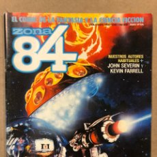 Cómics: ZONA 84 N° 33 (TOUTAIN EDITOR 1986). JOHN SEVERIN, KEVIN FARRELL, FERNANDO FERNÁNDEZ,.... Lote 221692910