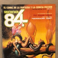 Cómics: ZONA 84 N° 34 (TOUTAIN EDITOR 1986). PEPE MORENO CASARES,.... Lote 221693213