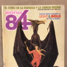 Cómics: ZONA 84 N° 42 (TOUTAIN EDITOR). LIGHT & BOLD,.... Lote 221695373