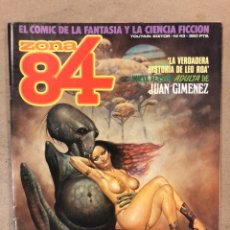 Cómics: ZONA 84 N° 43 (TOUTAIN EDITOR). JUAN GIMÉNEZ, SERPIERI, BEROY, ORTIZ, ROTUNDO, BEA,.... Lote 221695983