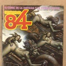 Cómics: ZONA 84 N° 46 (TOUTAIN EDITOR). M.A. PRADO, J. GIMÉNEZ, E. SERPIERI, KORDEJ, P. MORENO,.... Lote 221698160