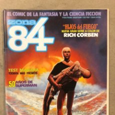 Cómics: ZONA 84 N° 48 (TOUTAIN EDITOR). 50 AÑOS DE SUPERMAN, RICHARD CORBEN, BIFFIN, KORDEJ,.... Lote 221698733