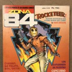 Cómics: ZONA 84 RETAPADO N° 86/88 (TOUTAIN EDITOR) JEFF JONES, CORBEN, DE FELIPE, BEA, ORTIZ,.... Lote 221701992