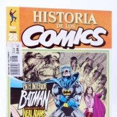 Comics: HISTORIA DE LOS COMICS FASCÍCULO 28. SUPERHÉROES TRAUMATIZADOS (VVAA) TOUTAIN, 1982. OFRT. Lote 233197850