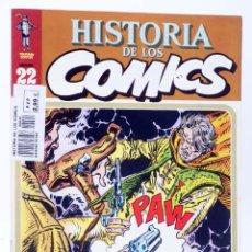 Fumetti: HISTORIA DE LOS COMICS FASCÍCULO 22. WESTERN. BLUEBERRY (VVAA) TOUTAIN, 1982. OFRT. Lote 227470024