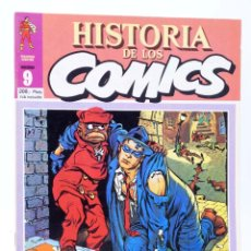 Fumetti: HISTORIA DE LOS COMICS FASCÍCULO 9. UN ALUD DE SUPERHOMBRES (VVAA) TOUTAIN, 1982. CON POSTER. OFRT. Lote 221740800