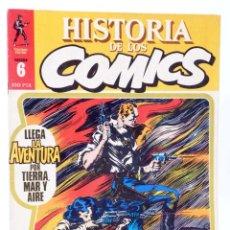Cómics: HISTORIA DE LOS COMICS FASCÍCULO 6. LLEGA LA AVENTURA (VVAA) TOUTAIN, 1982. OFRT. Lote 221740802