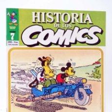 Cómics: HISTORIA DE LOS COMICS FASCÍCULO 7. EL MUNDO DE DISNEY (VVAA) TOUTAIN, 1982. OFRT. Lote 221740812