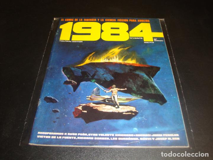 1984 NUMERO VEINTE SEGUNDA EDICION (Tebeos y Comics - Toutain - Comix Internacional)