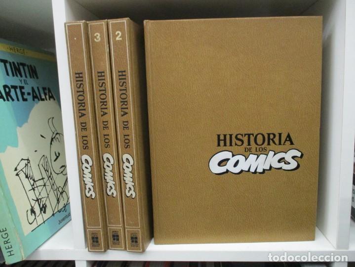 COLECCION COMPLETA - LA HISTORIA DE LOS COMICS - 4 TOMOS -TOUTAIN EDITOR (Tebeos y Comics - Toutain - Obras Completas)